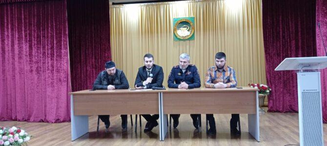 Встреча представителей Ахматовского района г. Грозного совместно с ОГИБДД УМВД России  в молодежной среде со студентами нашего колледжа