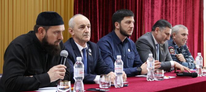 Мероприятие приуроченное ко Дню отмены  режима контртеррористической операции (КТО), встреча со студентами колледжа почетных гостей.